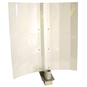 REFLECTOR WHITE ANGEL 24'' WITH SOCKET / BOX (1)