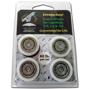 LIGHT RAIL EXTREME DUTY TROLLEY WHEEL KIT (1)