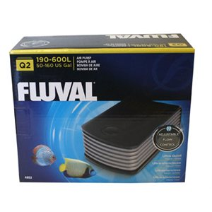 FLUVAL Q2 POMPE À AIR DÉBIT AJUSTABLE (1)