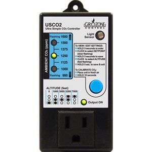 GROZONE USCO2 CONTRÒLEUR CO2 ULTRA SIMPLE 0-1600PPM (1)