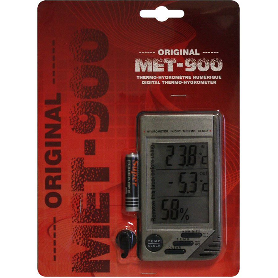 ORIGINAL MET-900 DIGITAL THERMO-HYGROMETER (1)