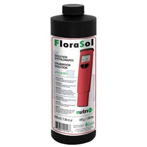 NUTRI+ FLORASOL SOLUTION ÉTALONNAGE PH 4 500ML (1)