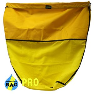 EXTRACTION BAG PRO YELLOW BAG 33 MICRONS 55 GAL (1)